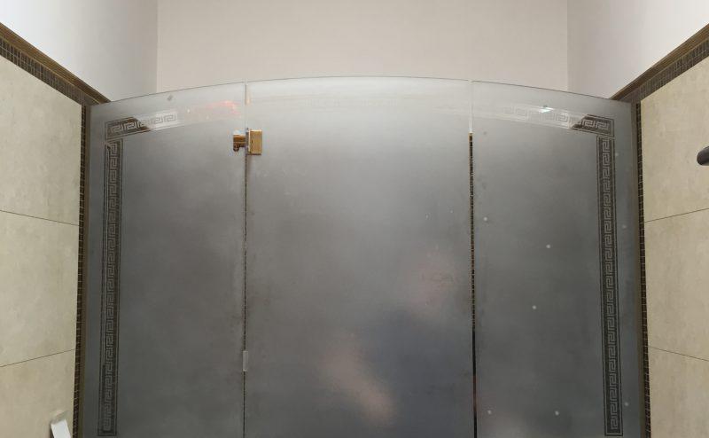 Pareti Per Doccia In Vetro : Box doccia a parete vetreria larte nel vetro