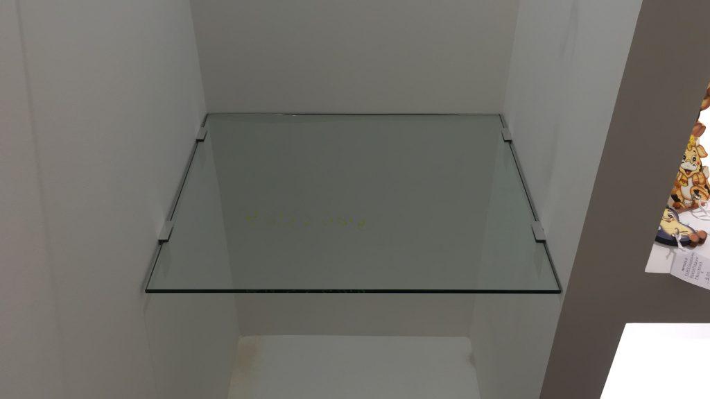 Ripiano in cristallo